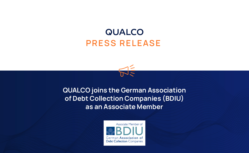 QUALCO joins the German Association of Debt Collection Companies (BDIU) as an Associate Member