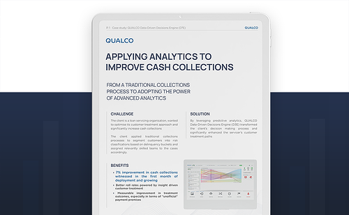 [CASE STUDY] Applying advanced analytics to improve cash collection