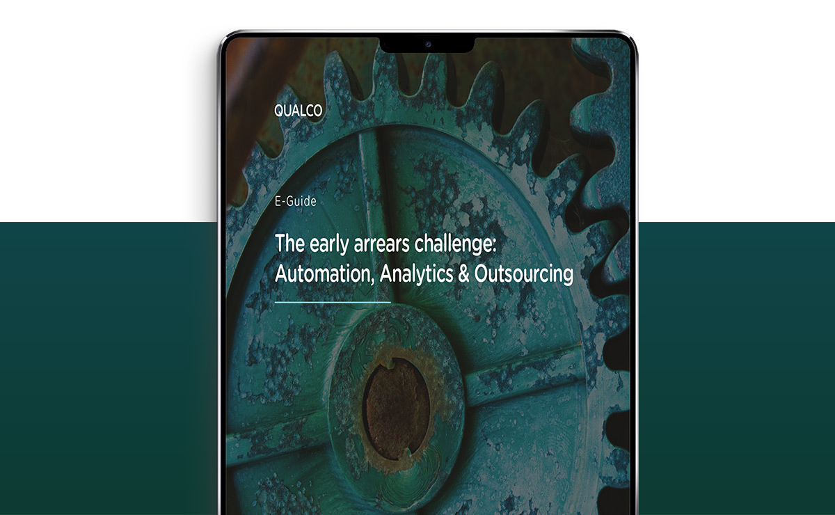 The early arrears challenge - Automation, Analytics & Outsourcing