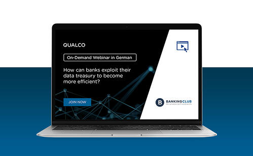 How can banks exploit their data treasury to become more efficient?