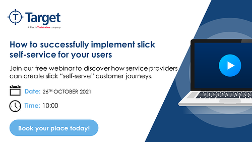 [Thought leadership webinar]: How to successfully implement slick self-service for your users