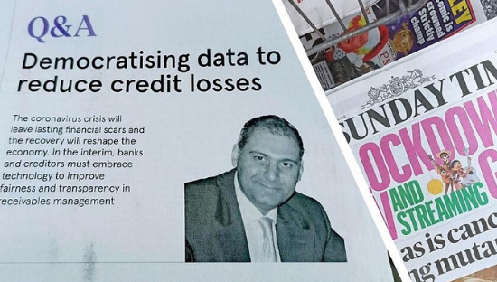 Q&A: DEMOCRATISING DATA TO REDUCE CREDIT LOSSES